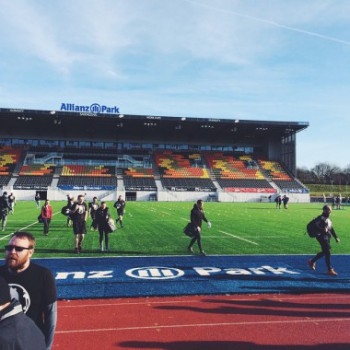 Spartans gathering at Allianz Park