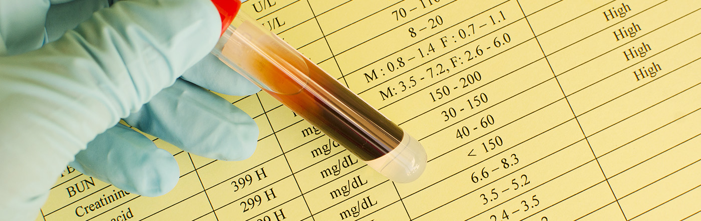 blood test for vitamin and mineral deficiencies