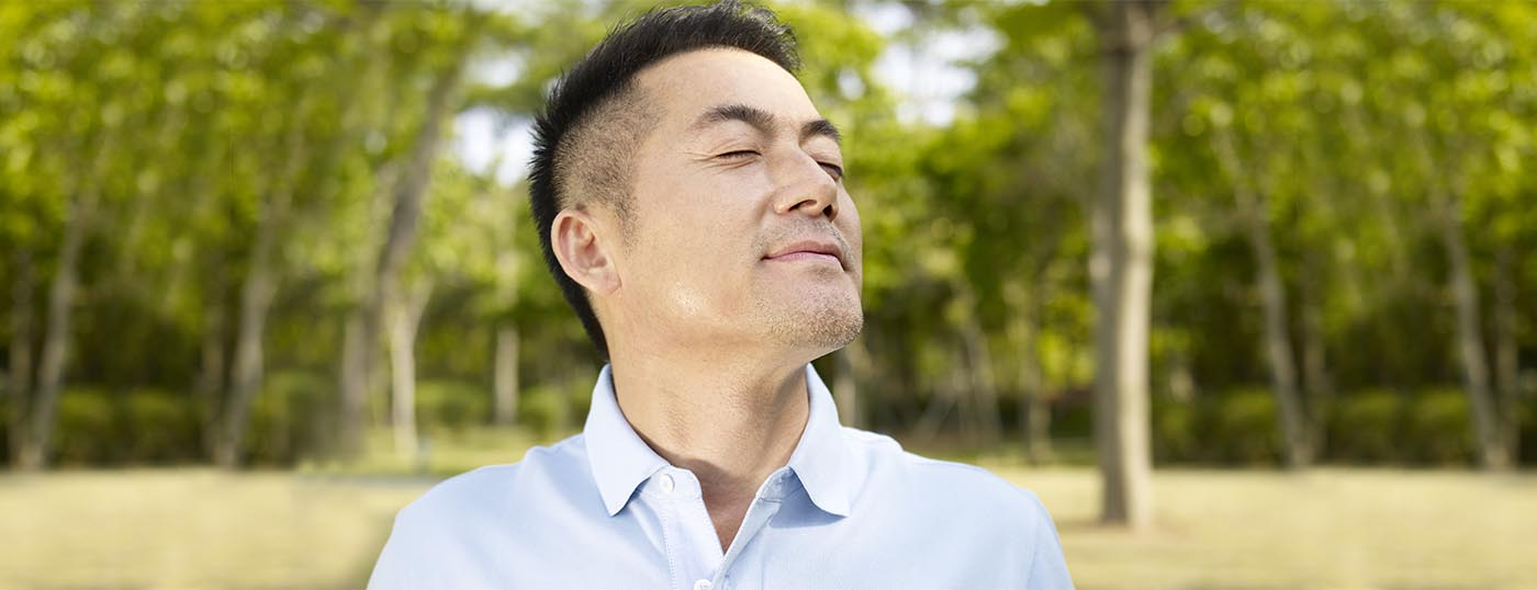 Deep breathe to instantly relief stress