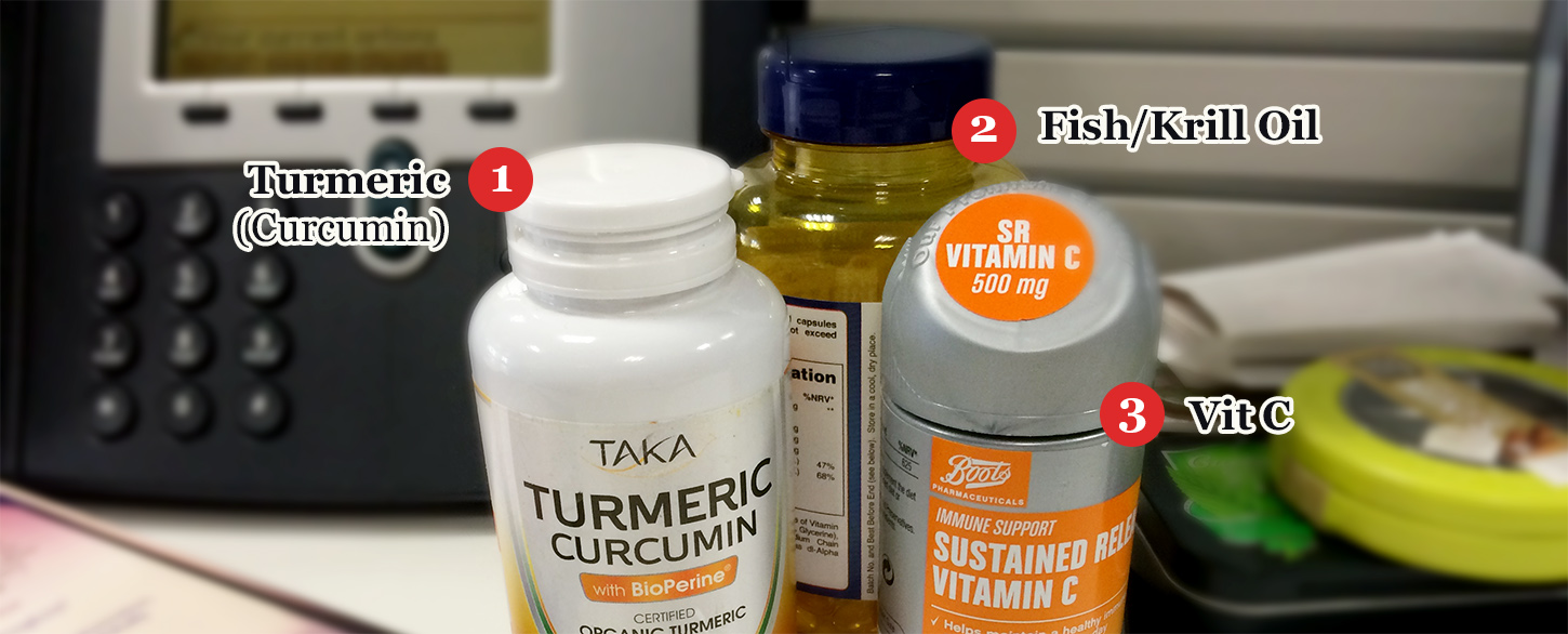 The 5 Supplements That Work and Should Be Kept on Your Desk