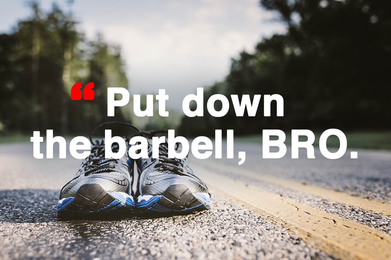 Put Down the Barbell, Bro: New Year's Resolution to Focus on What OCR is All About
