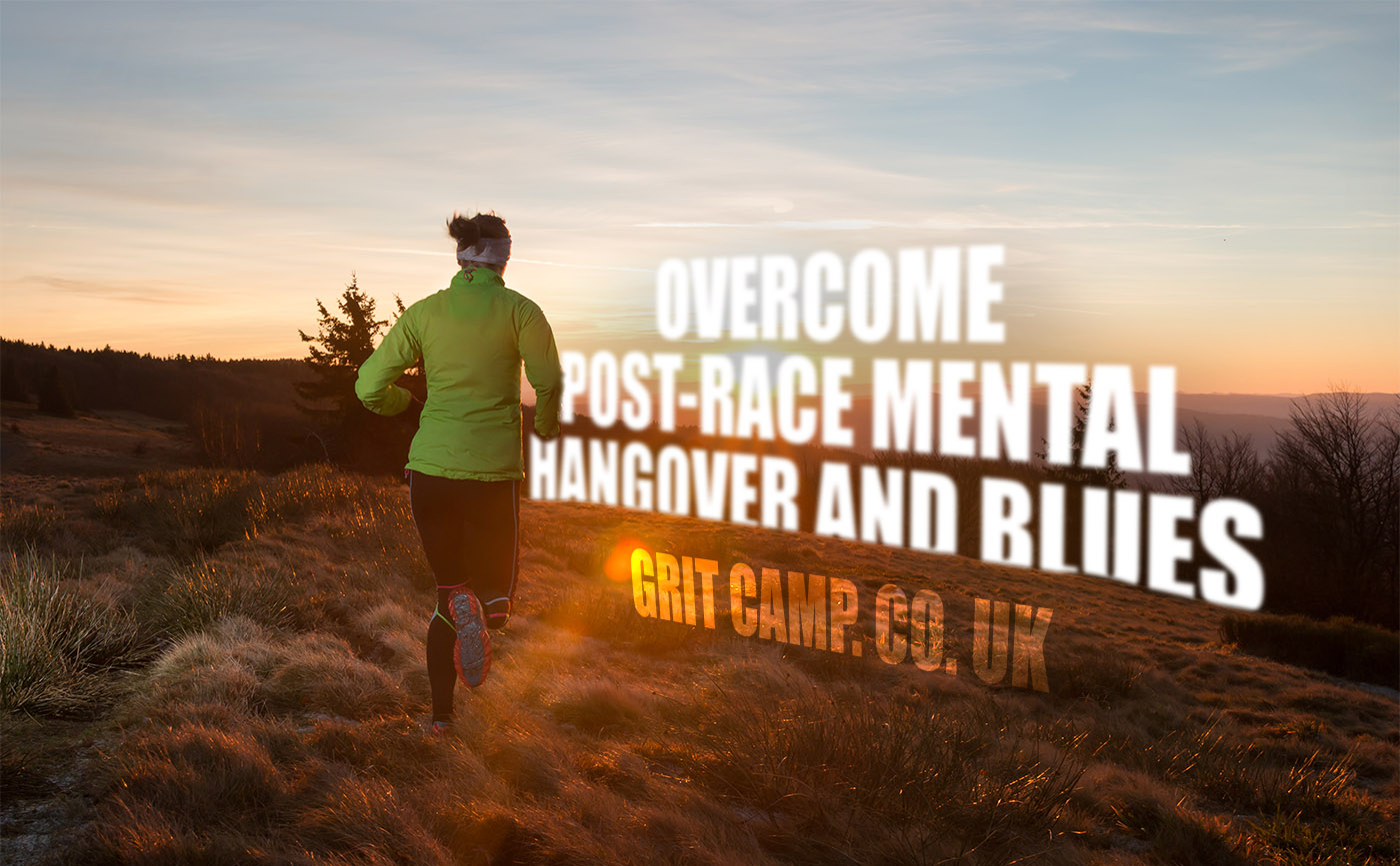 post-race blues and mental hangover
