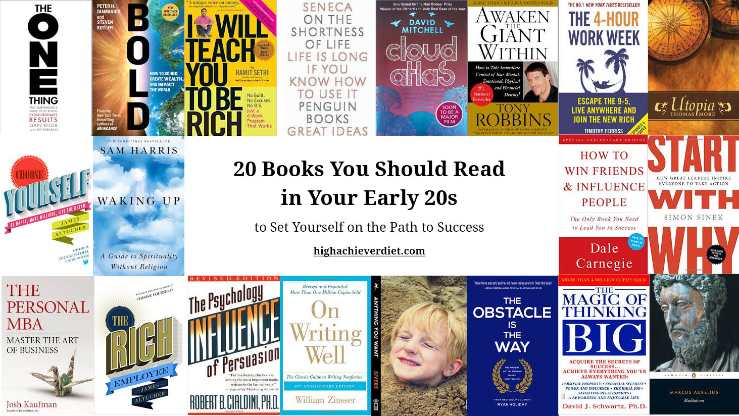 20 Books You Should Read in Your Early 20s to Set Yourself on the ...