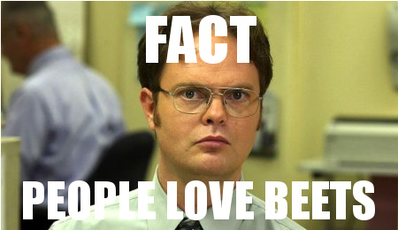 the office dwight fact people love beats