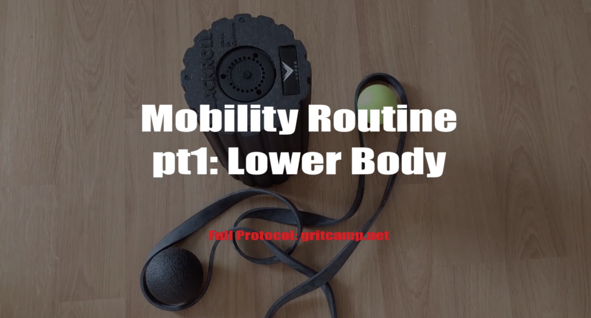 mobility essentials: lower body routine