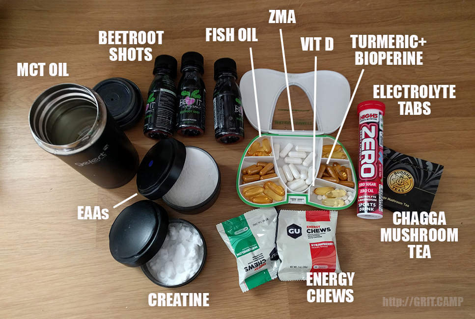 Obstacle Race Day Kit: Nutrition and Supplements