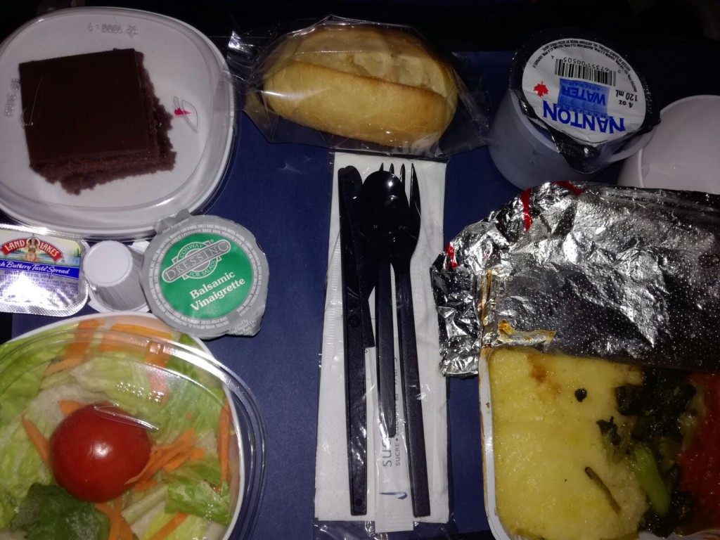 Meal 4, Client A - Airline food
