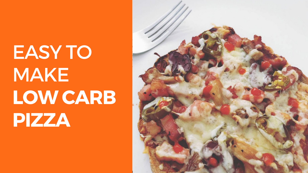 Easy to Make Low Carb / Keto Pizza