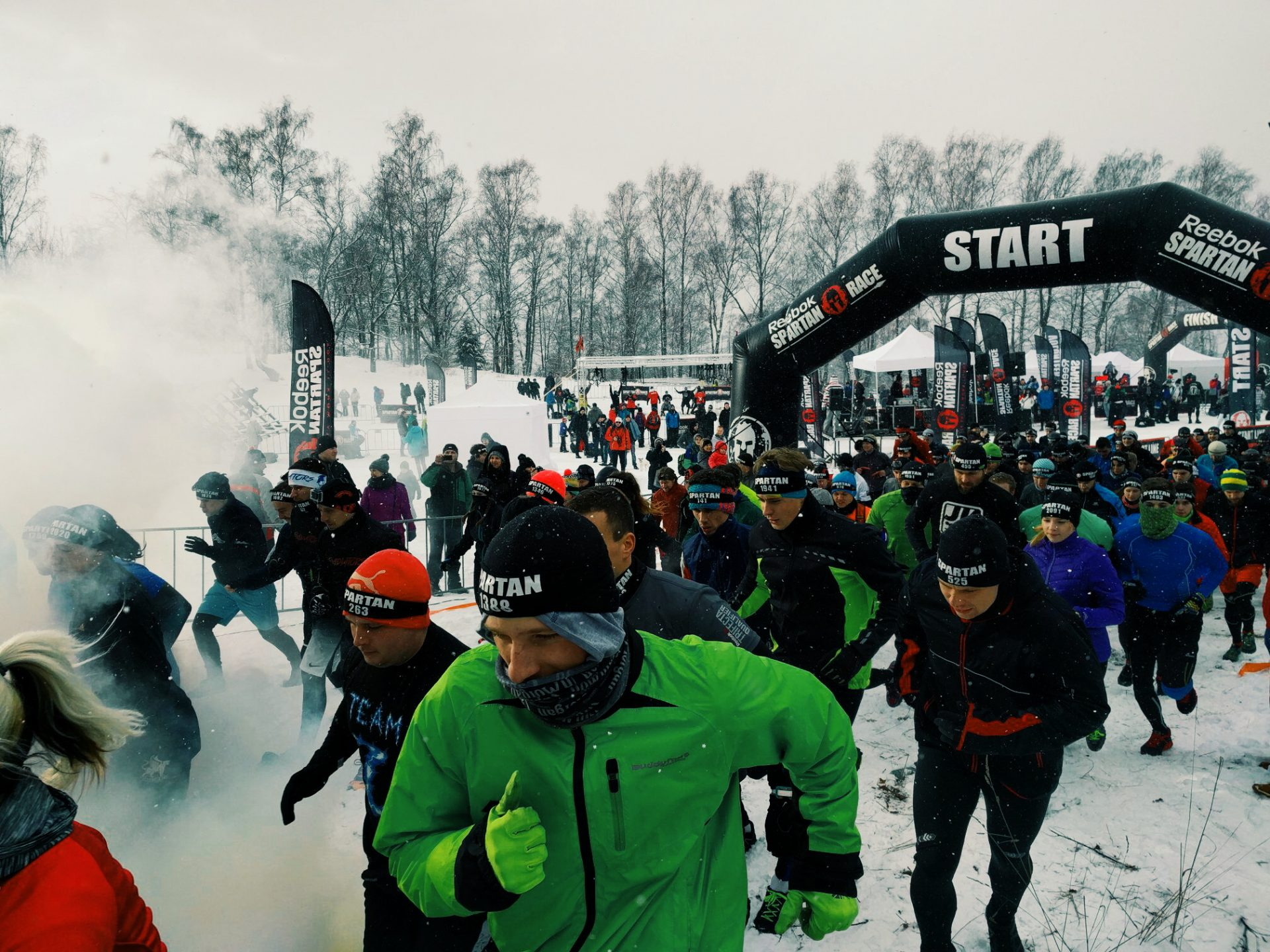 The Cool Impressions of Our First Winter Spartan Race in Liberec CZ