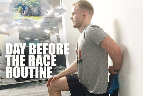 Week 14: The 'Day Before the Race' Routine