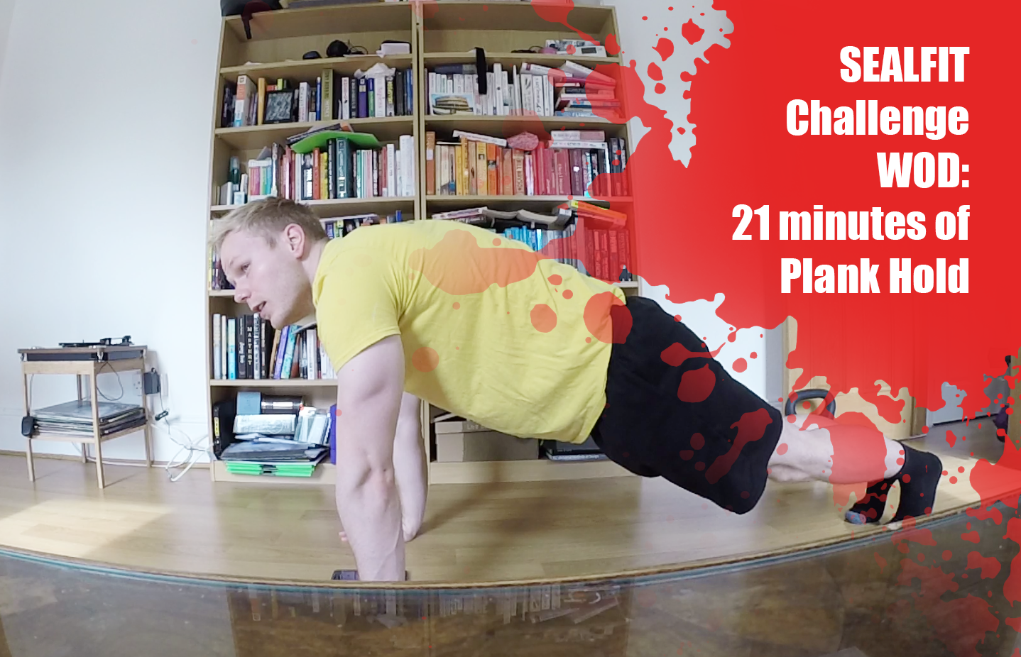 Week 23 Challenge: 21 Minute of Plank Hold
