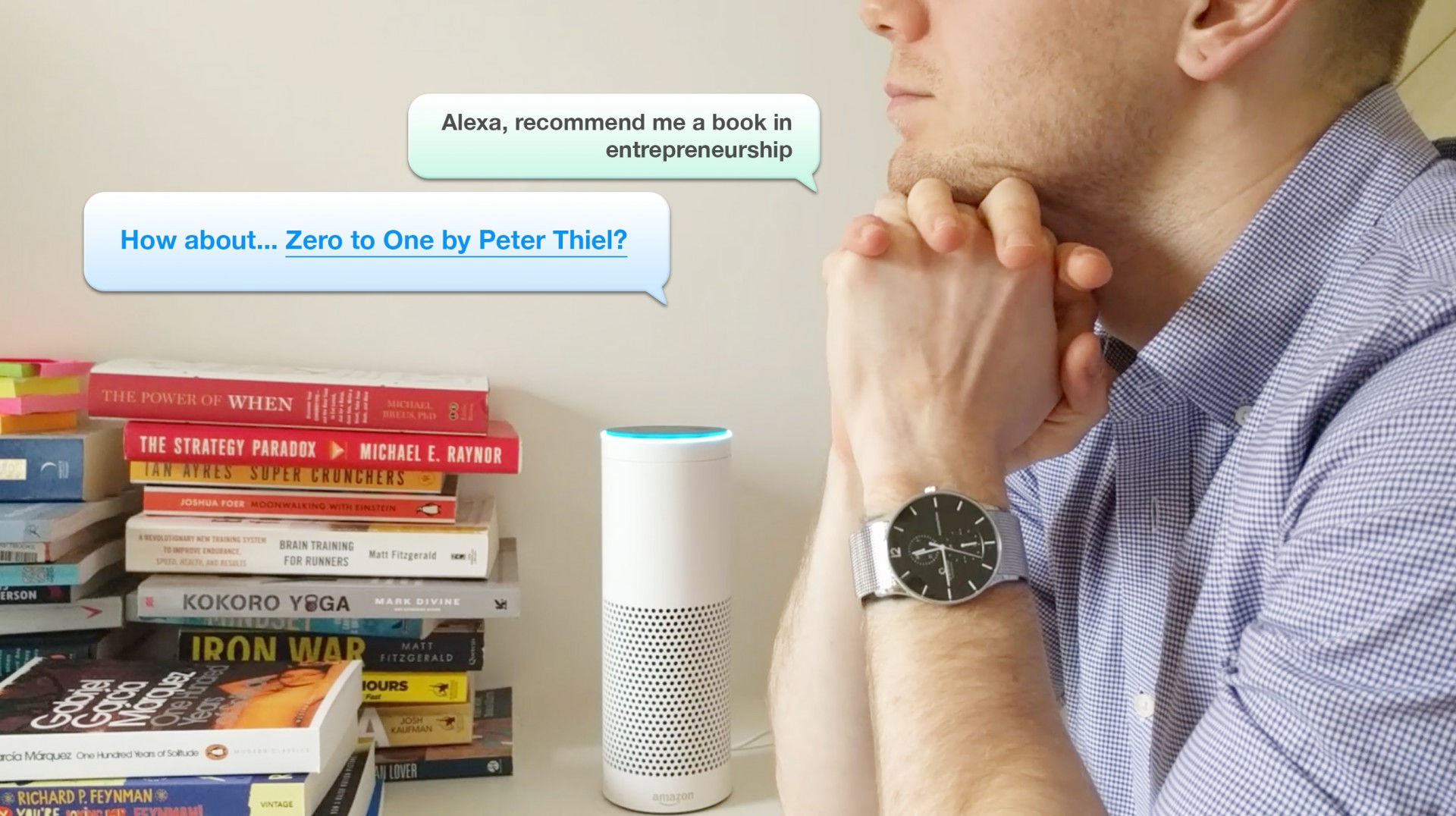 Find Your Next Read with Recommend Me A Book App for Amazon Echo